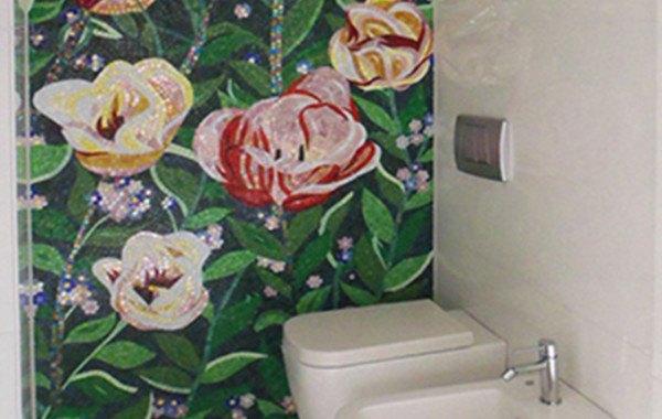 Mosaico-bagno corretto