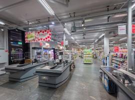 Granito Onsernone levigato Supermercato Coop | Mendrisio