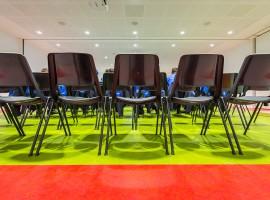 Linoleum tinte unite Stabile logistico amministrativo ex Cif | Rancate