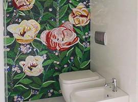 Mosaico con disegno Abitazione privata